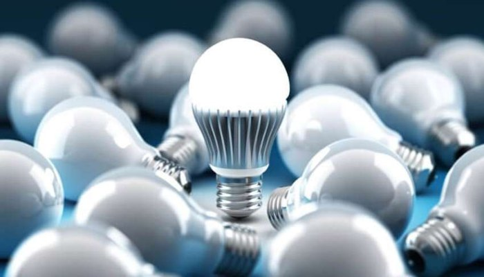 LED Bulb factory at home
