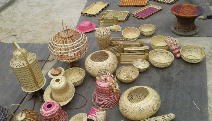 Indian bamboo products