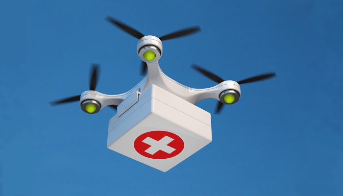 Medical Drone Use in India