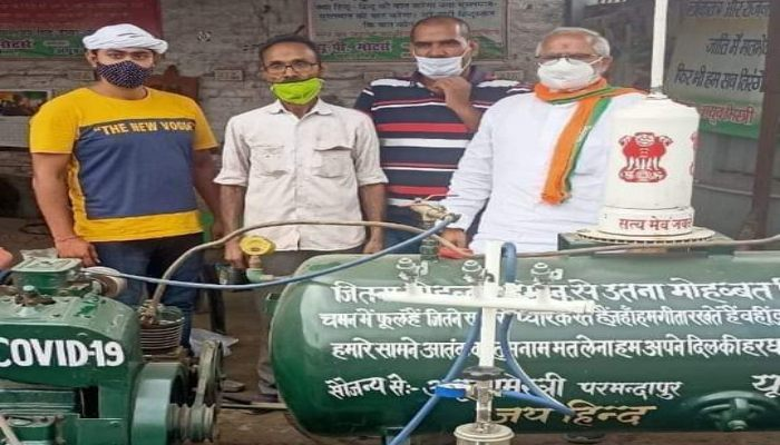 Oxygen plant from jugaad