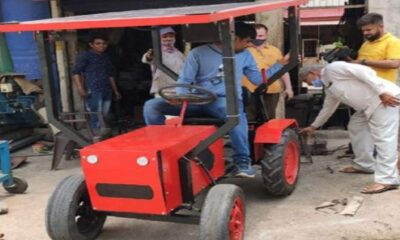 Solar Powered Tractor